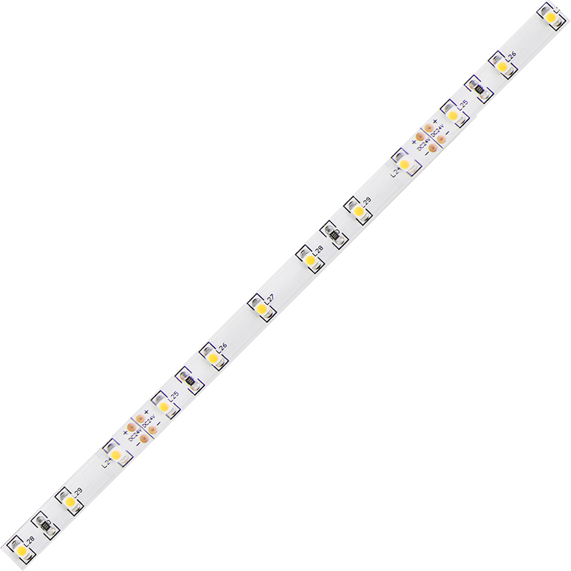 LED pásek SMD3528 studená bílá 8mm IP20 McLED 60 LED/metr, 4,8 W/metr, DC 24 V, IP20
