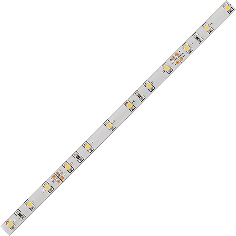 LED pásek SMD3528 studená bílá 8mm IP54, McLED 60 LED/metr, 4,8 W/metr, DC 24 V, IP54