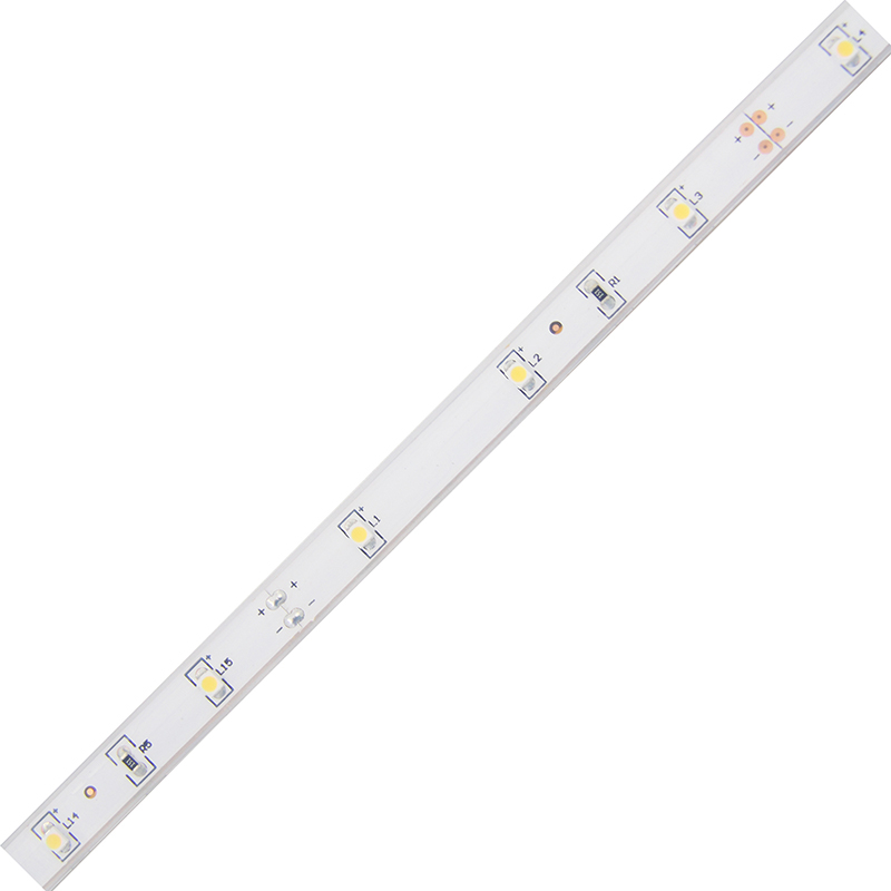 LED pásek SMD3528 teple bílá 10mm IP68, McLED 30 LED/metr, 2,4 W/metr, DC 12 V, IP68