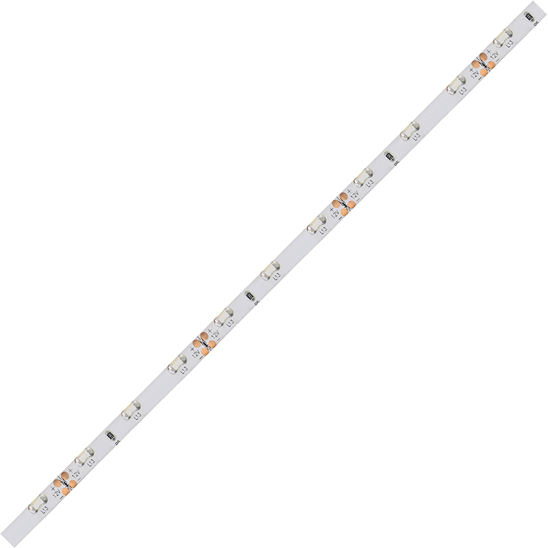 LED pásek SMD335 červená x5mm IP54, McLED 60 LED/metr, 4,8 W/metr, DC 12 V, IP54